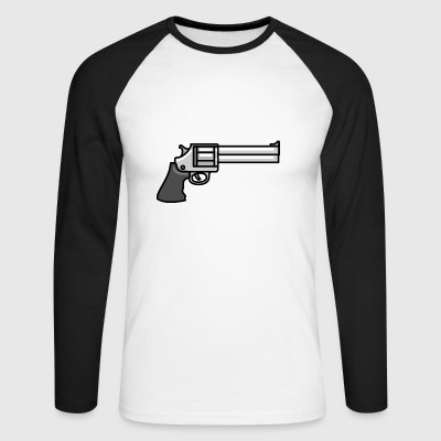 pistol - Men's Long Sleeve Baseball T-Shirt