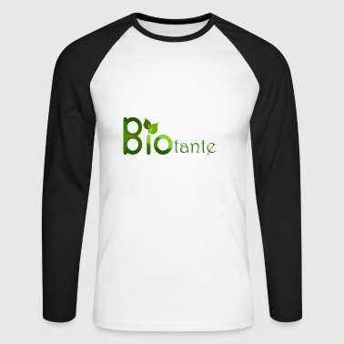 Organic aunt organic - Men's Long Sleeve Baseball T-Shirt