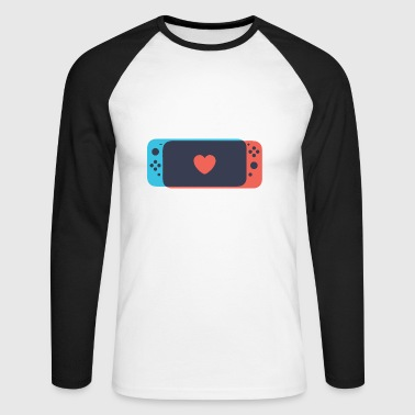Switch Love - Men's Long Sleeve Baseball T-Shirt