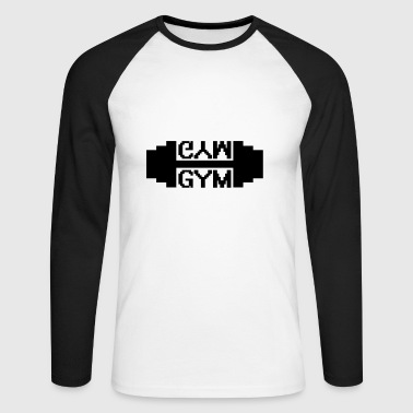 Fitness Gym - T-shirt baseball manches longues Homme