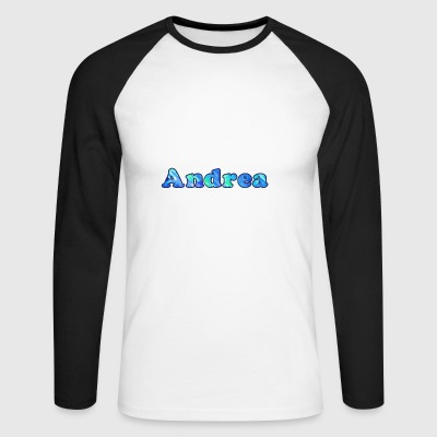 Nom: Andrea - T-shirt baseball manches longues Homme