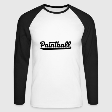 2541614 15429580 paintball - T-shirt baseball manches longues Homme