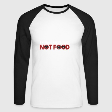 Animals Are Friends Not Food Vegan AF Gift - Men's Long Sleeve Baseball T-Shirt