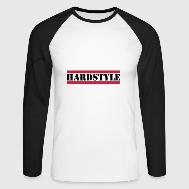 Hardstyle - Men's Long Sleeve Baseball T-Shirt