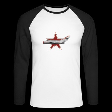 MiG 15 bis USSR - Men's Long Sleeve Baseball T-Shirt