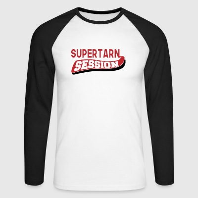 SUPER TARN SESSION 01 - Men's Long Sleeve Baseball T-Shirt