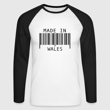 Made in Wales - Men's Long Sleeve Baseball T-Shirt