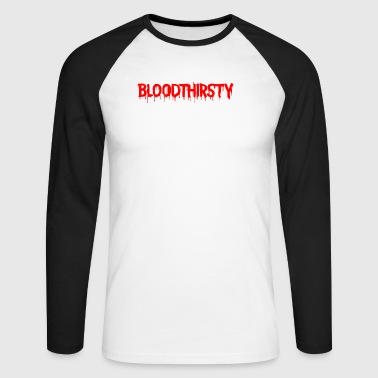 bloodthirsty - T-shirt baseball manches longues Homme