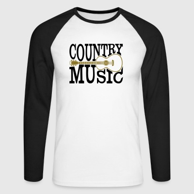 Country music - Men's Long Sleeve Baseball T-Shirt