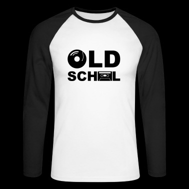 Old School - T-shirt baseball manches longues Homme