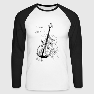 cello - Men's Long Sleeve Baseball T-Shirt