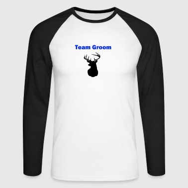 stag party - Men's Long Sleeve Baseball T-Shirt
