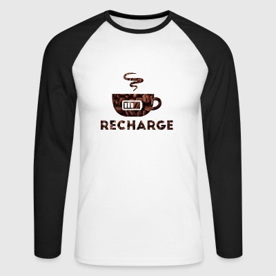 Recharge - Men's Long Sleeve Baseball T-Shirt