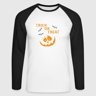 Trick or Treat - T-shirt baseball manches longues Homme