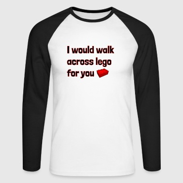 Walk Across For You - Men's Long Sleeve Baseball T-Shirt