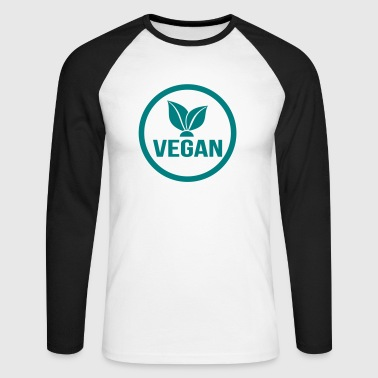 Vegans - Men's Long Sleeve Baseball T-Shirt