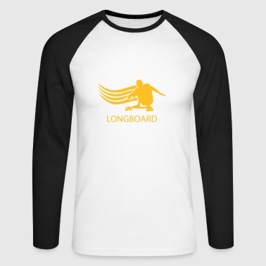 longboard - Men's Long Sleeve Baseball T-Shirt