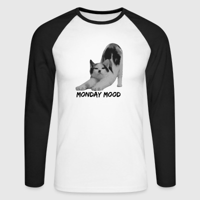 Monday Mood - T-shirt baseball manches longues Homme