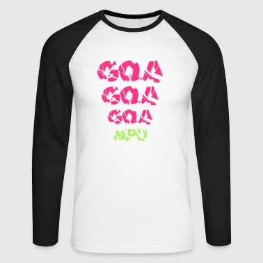 GOA, GOA, GOA, MPU! - Men's Long Sleeve Baseball T-Shirt