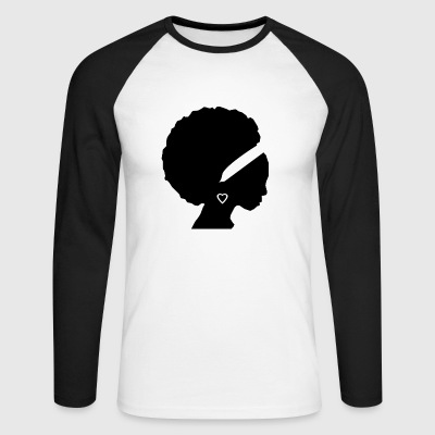Afro - T-shirt baseball manches longues Homme