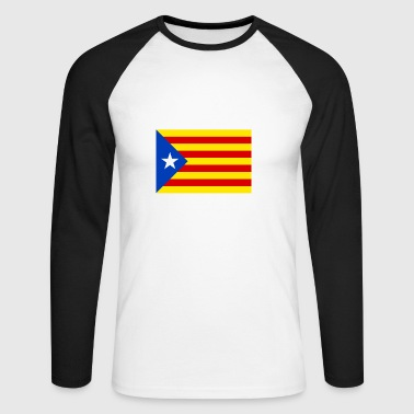 Catalan flag - Men's Long Sleeve Baseball T-Shirt
