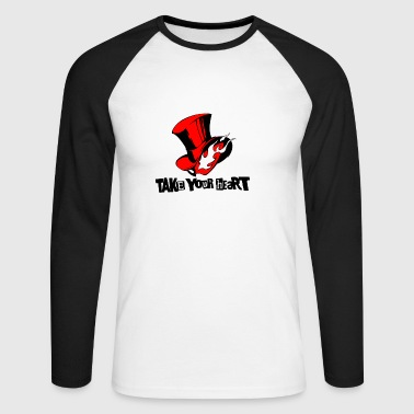 take your heart - Men's Long Sleeve Baseball T-Shirt