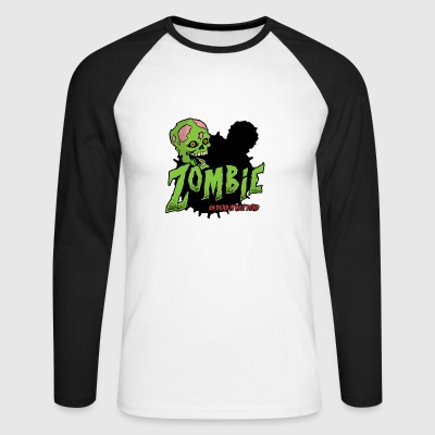 Undead is not Dead 02 - Men's Long Sleeve Baseball T-Shirt