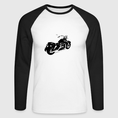 Classic motorbike shadow ace 1100 - Men's Long Sleeve Baseball T-Shirt