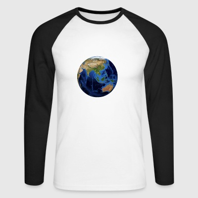planet Earth - Men's Long Sleeve Baseball T-Shirt