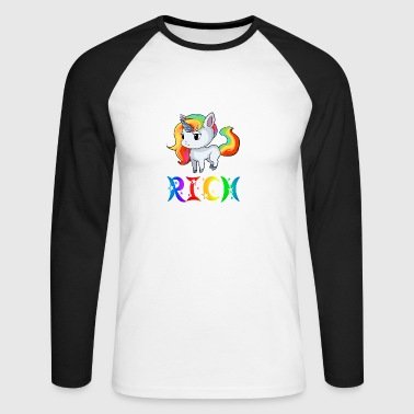 Unicorn Rich - T-shirt baseball manches longues Homme
