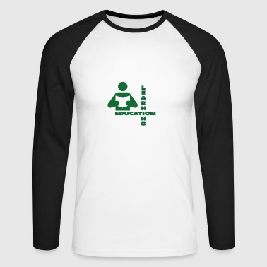 Education - Männer Baseballshirt langarm