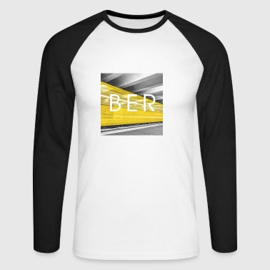 Berlin Underground - Men's Long Sleeve Baseball T-Shirt