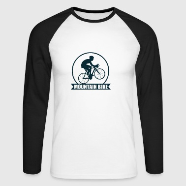 Mountain Bike! - T-shirt baseball manches longues Homme