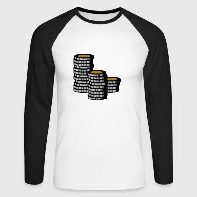 Cash - Men's Long Sleeve Baseball T-Shirt