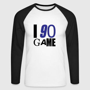 I 90 GAME - T-shirt baseball manches longues Homme
