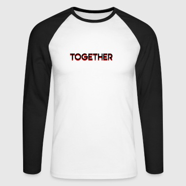 Together - T-shirt baseball manches longues Homme
