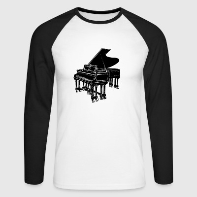 piano - T-shirt baseball manches longues Homme