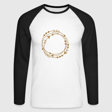 Circle frame - Men's Long Sleeve Baseball T-Shirt