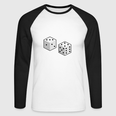 cubes - T-shirt baseball manches longues Homme