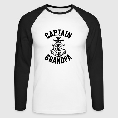 Capitaine Grandpa Shirt - T-shirt baseball manches longues Homme