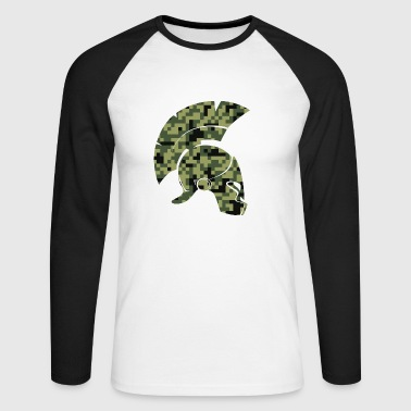 helmet - Men's Long Sleeve Baseball T-Shirt