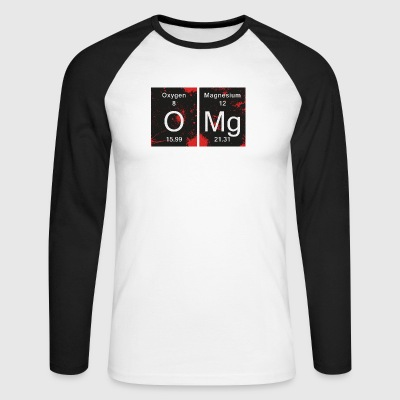Chimie OMG - Oh My God - T-shirt baseball manches longues Homme
