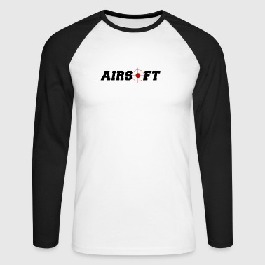 airsoft - softair - Men's Long Sleeve Baseball T-Shirt