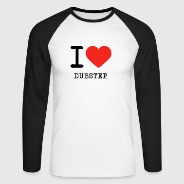 J'adore Dubstep - T-shirt baseball manches longues Homme