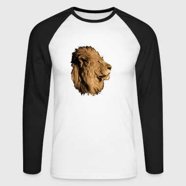 Lion - T-shirt baseball manches longues Homme