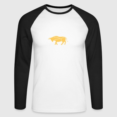 Young Bull - Men's Long Sleeve Baseball T-Shirt