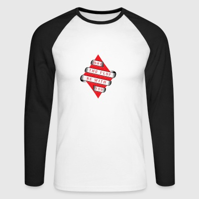 Poker Flop Cards Shirt Gift - Men's Long Sleeve Baseball T-Shirt