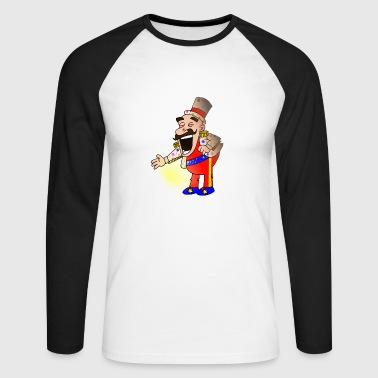 Circus Chef - Men's Long Sleeve Baseball T-Shirt