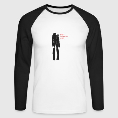 Rejoice, The Slender Man Cometh! - Men's Long Sleeve Baseball T-Shirt