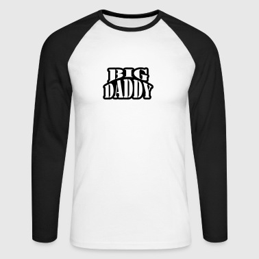 Big Daddy - T-shirt baseball manches longues Homme
